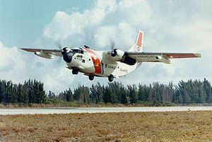 Warbird Picture - A United States Coast Guard HC-123B Provider from CGAS Miami.