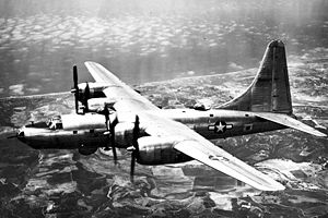 Warbird Picture - Consolidated B-32-1CF, the first B-32 built after modification to Block 20 standard.
