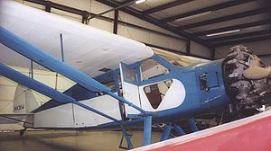 Warbird Picture - Airworthy CW-15C Sedan on display at the Historic Aircraft Restoration Museum, Dauster Field, Creve Coeur, Missouri in June 2006