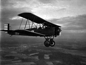 Warbird Picture - A Maryland National Guard Consolidated O-17