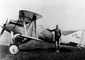 Warbird Picture - The CR-1 with Bert Acosta, 1921