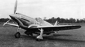 Warbird Picture - Curtiss XP-46 (USAF photo)