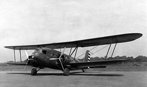 Warbird Picture - A USAAC YC-30 in 1933