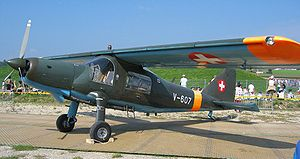 Warbird Picture - Do 27 in Swiss Air Force markings