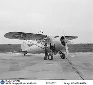 Warbird Picture - Curtiss XF13C in 1937