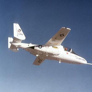 Warbird Picture - A T-46 out of Edwards AFB