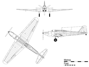 Airplane Picture - Orthographic projection of the Battle.