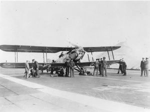Warbird Picture - Fairey IIIF on HMS Furious
