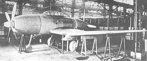 Airplane Picture - A full-scale wooden mock-up of the Ki-94-I.