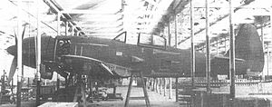 Airplane Picture - The first prototype of the Ki-94-II under constraction.