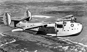 Warbird Picture - An early PB2Y-2 in flight.