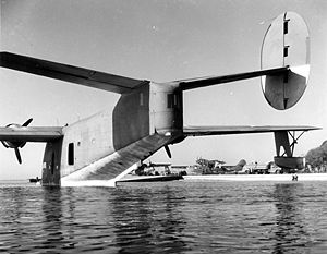 Airplane Picture - A Coronado moored at NAS Jacksonville during the war.