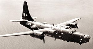 Warbird Picture - U.S. Navy PB4Y-2 from VP-23 in flight.
