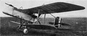 Warbird Picture - First prototype F.E.9