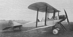 Warbird Picture - The first R.E.1 in its earliest form in July 1913