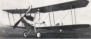 Warbird Picture - An early production B.E.12