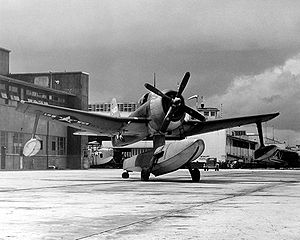 Warbird Picture - A U.S. Navy SC-1 at Naval Air Station Jacksonville, Florida, in 1946