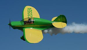Warbird Picture - A restored 1939 Culver Dart GK equipped for aerobatics over PLK