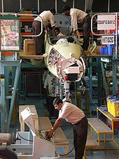 Aircraft Picture - Production line of the Hawk 132 at HAL, Bangalore