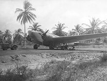 Aircraft Picture - Douglas B-18 deployed at an airfield in Aguadulce Panama.