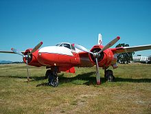 Aircraft Picture - A Conair 322 (A-26 water bomber conversion) at the BC Aviation Museum, Sidney, BC