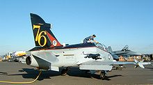 Aircraft Picture - Hawk 127 of No. 76 Squadron RAAF in special
