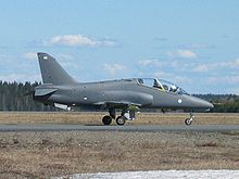 Aircraft Picture - Finnish Air Force Hawk 51 in Rissala AB