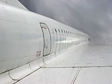 Aircraft Picture - Concorde fuselage