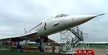 Aircraft Picture - Pre-production Concorde 101 on display at the Imperial War Museum Duxford, UK.