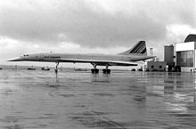 Aircraft Picture - Concorde in 1977