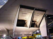 Aircraft Picture - Concorde's intake system