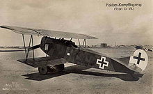 Aircraft Picture - Fokker D.VII(F)