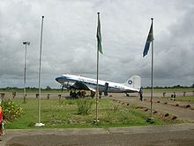 Aircraft Picture - Indigo Aviation DC-3 before takeoff at Pemba Airport (Tanzania), August 2009