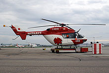 Aircraft Picture - A German BK 117 air ambulance