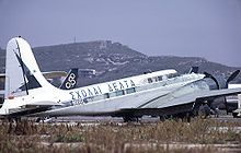 Aircraft Picture - Douglas B-23 converted to executive transport role at Athens (Hellenikon) Airport in 1973