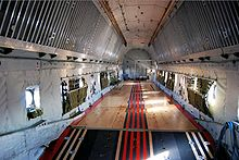 Aircraft Picture - C-124A cargo deck.