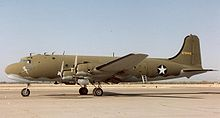 Aircraft Picture - The C-54 was the preferred tow aircraft for the XCG-17