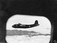 Aircraft Picture - US C-110 transport aircraft carrying supplies from the Australian mainland to Allied troops in Port Moresby, New Guinea, August 1942