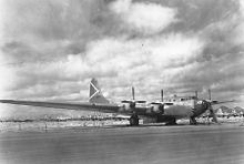 Aircraft Picture - XB-19A at Davis-Monthan Air Force Base before scrapping.