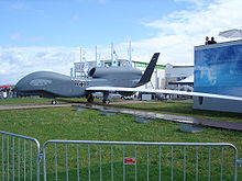 Aircraft Picture - EuroHawk mock-up at the ILA 2006