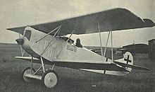 Aircraft Picture - Hermann Gx�ring's Fokker D.VII(F) (serial 5125/18)