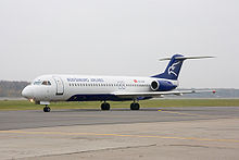 Aircraft Picture - Montenegro Airlines Fokker 100