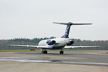Aircraft Picture - Montenegro Airlines Fokker 100 at Domodedovo Airport