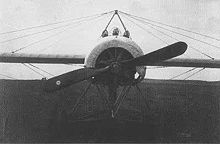 Aircraft Picture - Fokker E.IV with three gun installation.