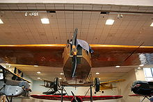 Aircraft Picture - Fokker T-2 on display in Washington, D.C.