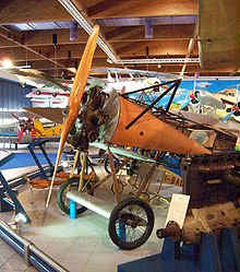 Aircraft Picture - D.VIII at the Caproni Museum