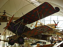 Aircraft Picture - Fokker D.VII displayed at the Royal Air Force Museum
