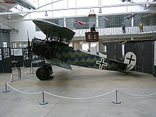 Aircraft Picture - Fokker D.VII preserved in the Deutsches Museum