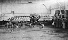 Aircraft Picture - Airframe of the prototype Fokker M.5