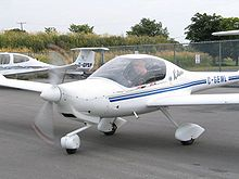 Aircraft Picture - A Diamond DA20, a popular trainer used by many flight schools.